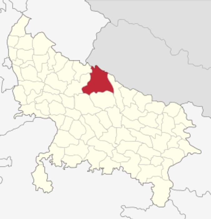 Lakhimpur Kheri district: District of Uttar Pradesh in India