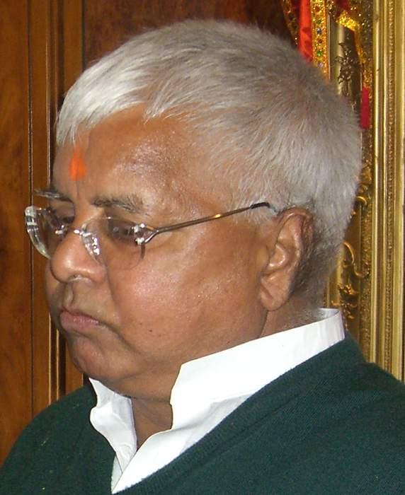 Lalu Prasad Yadav: Indian politician