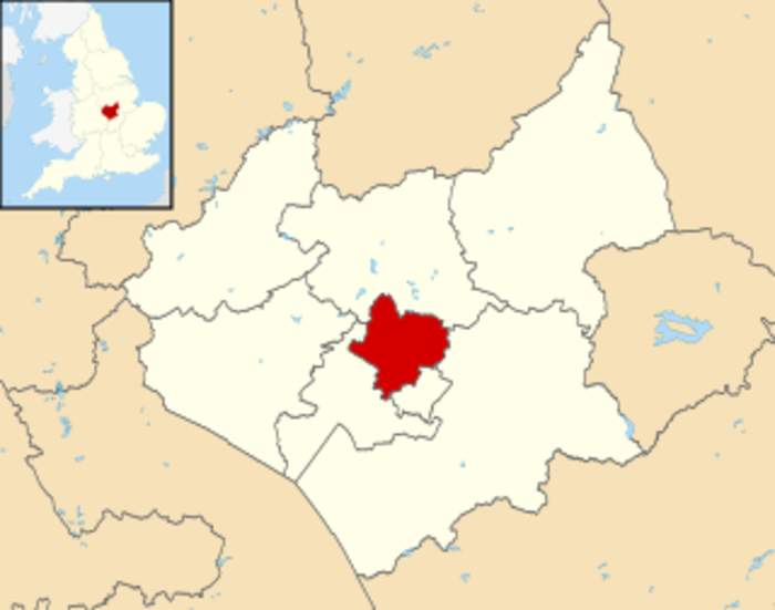 Leicester: City and unitary authority area in England