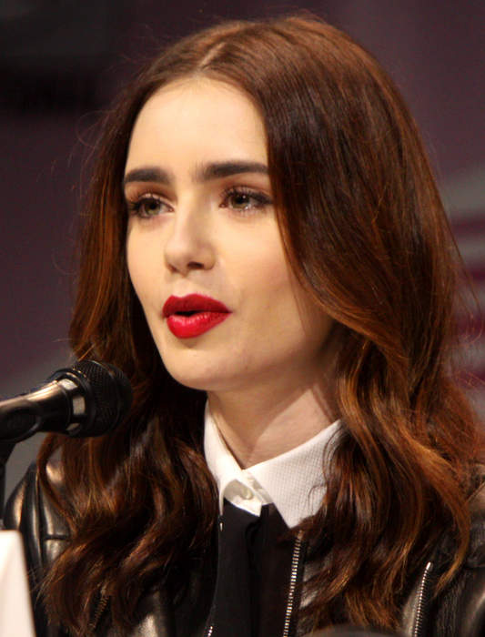 Lily Collins: English actress and model