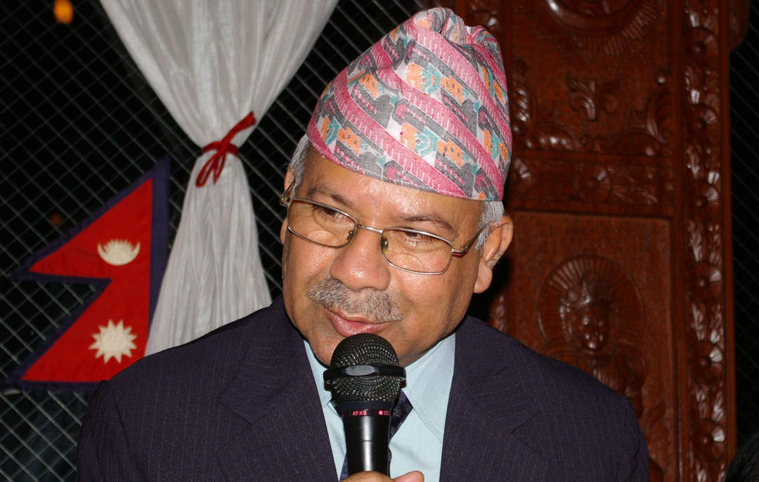 Madhav Kumar Nepal: