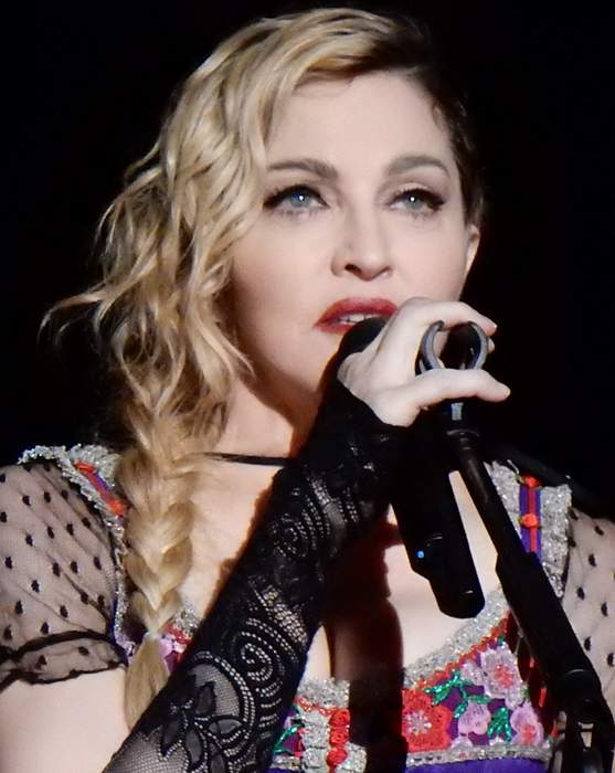 Madonna: American singer-songwriter and actress