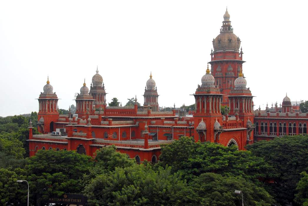 Madras High Court: High court in the Indian state of Tamil Nadu