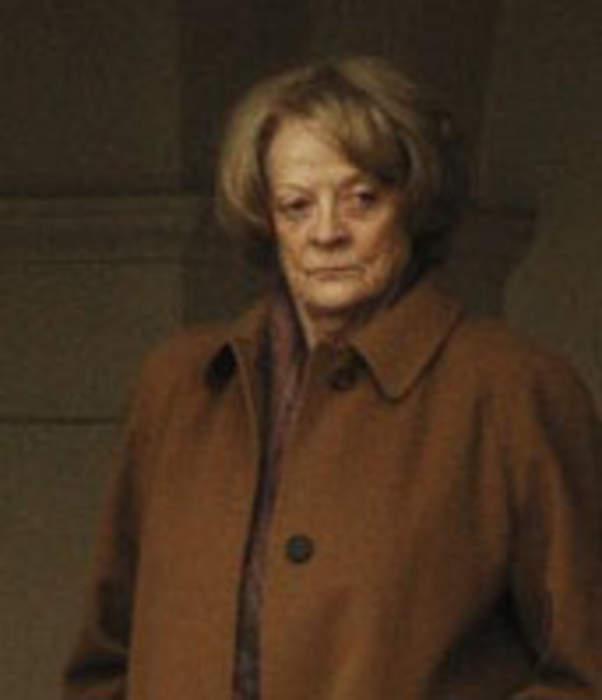 Maggie Smith: British actress