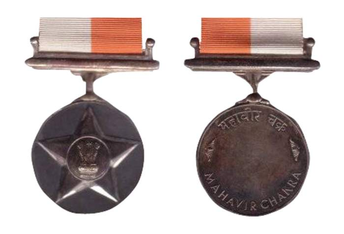 Maha Vir Chakra: Military decoration in India