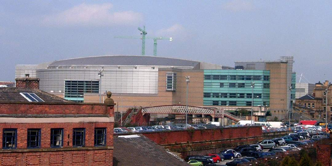 Manchester Arena: Event arena in Manchester, England
