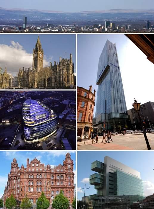 Manchester: City and metropolitan borough in England