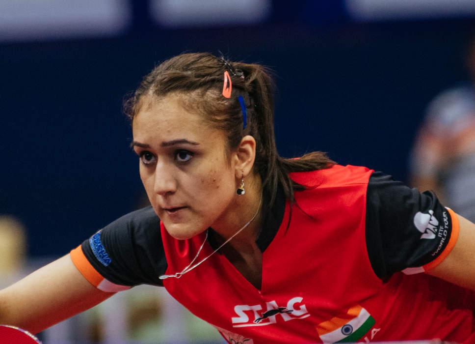 Manika Batra: Indian table tennis player