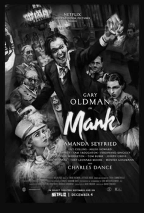 Mank: American biographical drama film by David Fincher