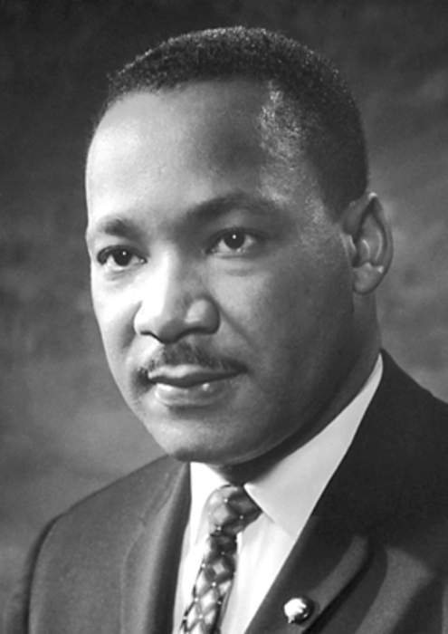 Martin Luther King Jr.: American civil rights activist and leader (1929–1968)