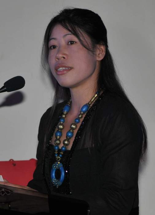 Mary Kom: Indian boxer
