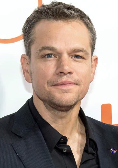 Matt Damon: American actor, screenwriter and film producer