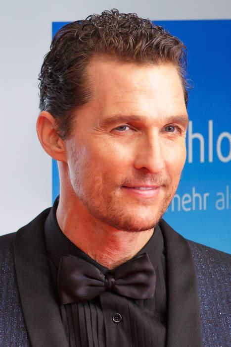 Matthew McConaughey: American actor