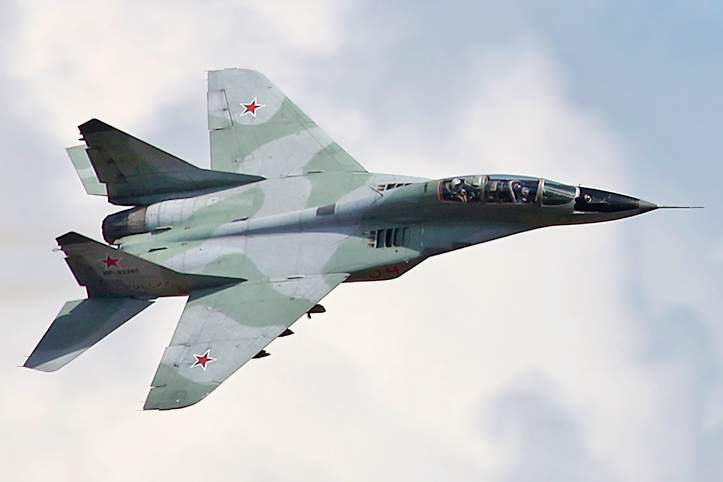 Mikoyan MiG-29: Twin-engine jet fighter aircraft