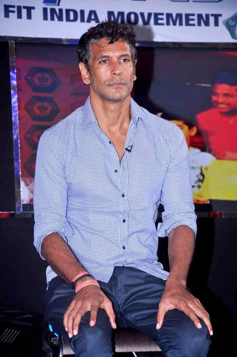 Milind Soman: Indian model, actor, film producer and fitness promoter