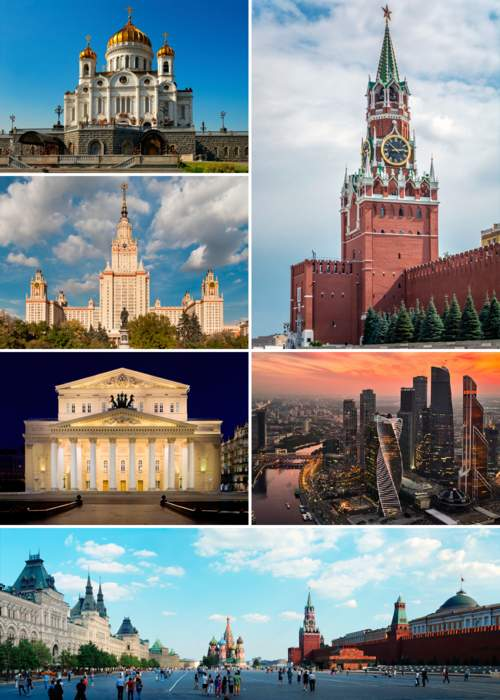 Moscow: Capital and largest city of Russia