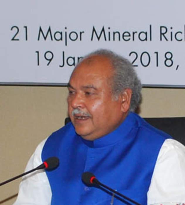 Narendra Singh Tomar: Indian politician