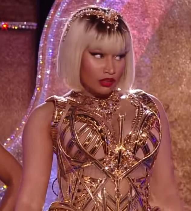 Nicki Minaj: Trinidadian-born rapper and singer