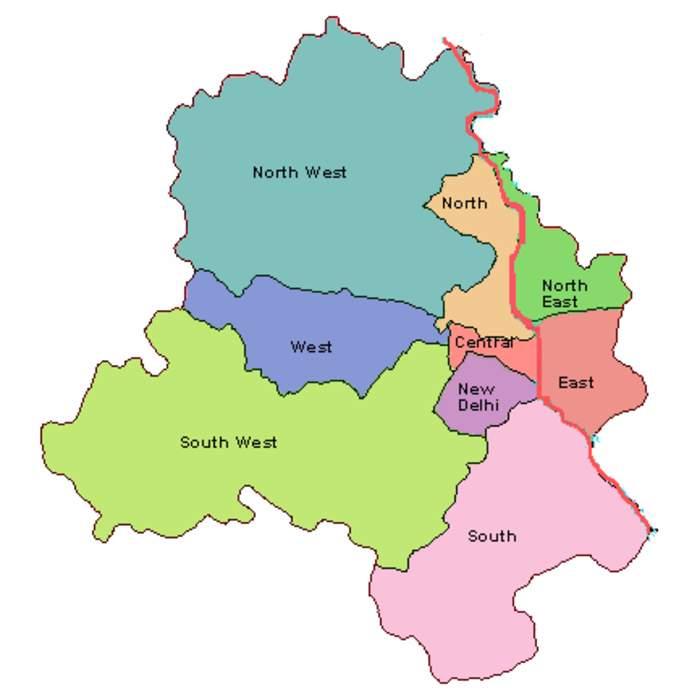 North East Delhi: District of Delhi in India