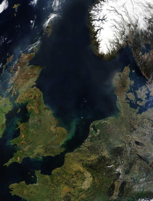 North Sea: Marginal sea of the Atlantic Ocean