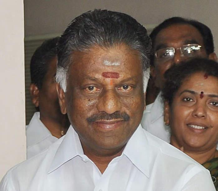 O. Panneerselvam: Indian politician