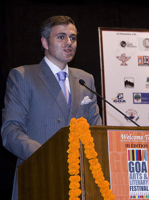 Omar Abdullah: Indian politician and former chief minister of erstwhile state of Jammu and Kashmir