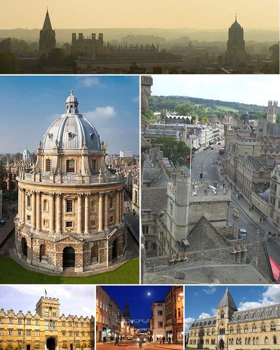 Oxford: City and non-metropolitan district in England