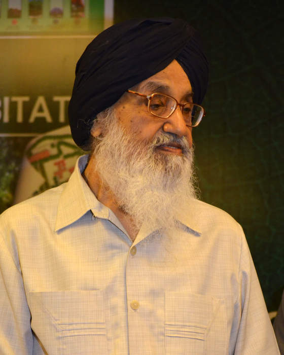 Parkash Singh Badal: Indian politician