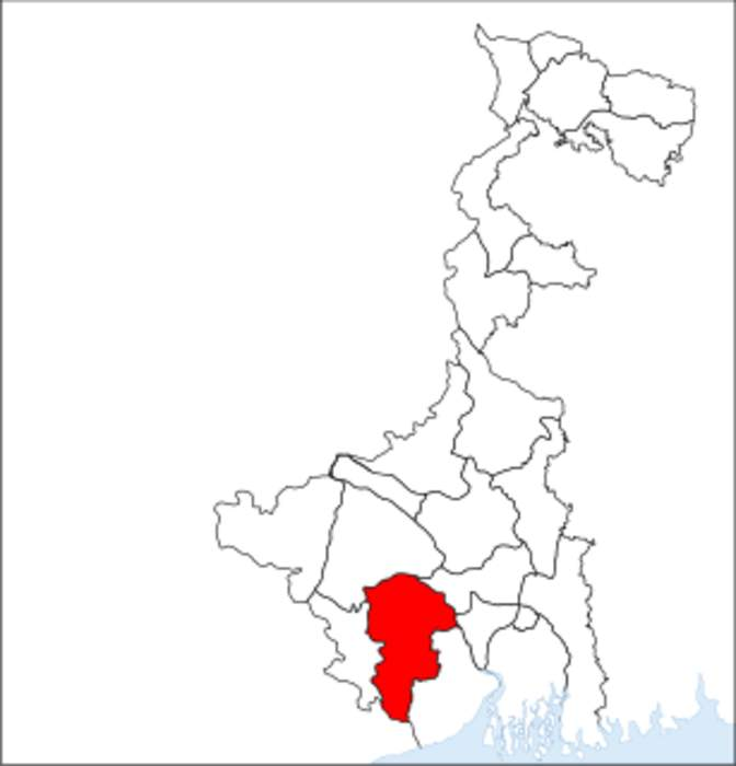Paschim Medinipur district: District of West Bengal in India
