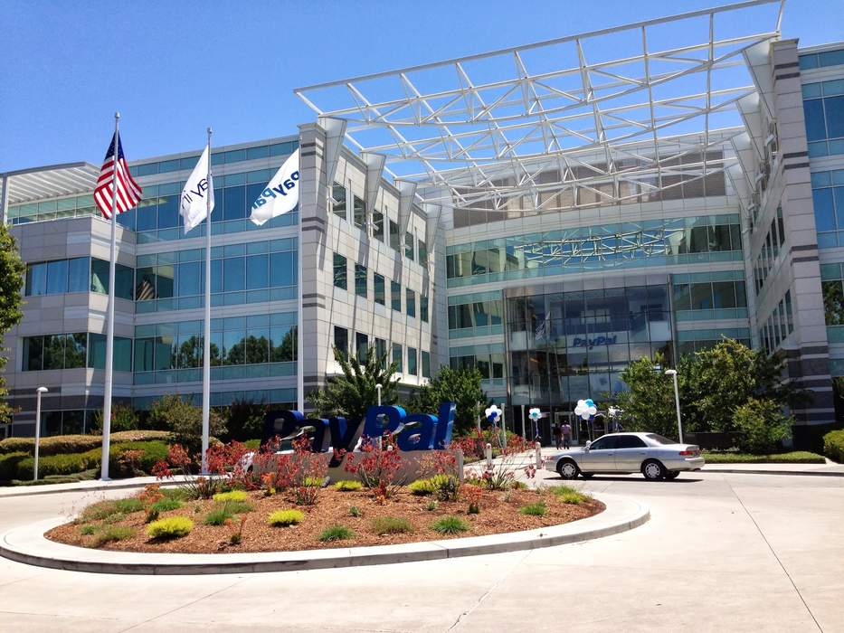 PayPal: Online financial services company based in San Jose, California