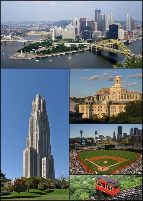 Pittsburgh: Second-most populous city in Pennsylvania, United States