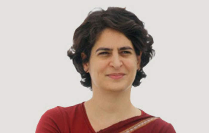 Priyanka Gandhi: Indian politician
