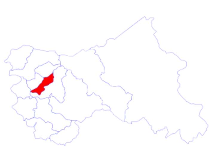Pulwama district: District in India