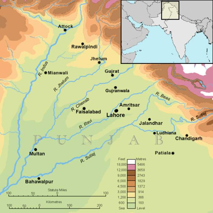 Punjab: Region in South Asia