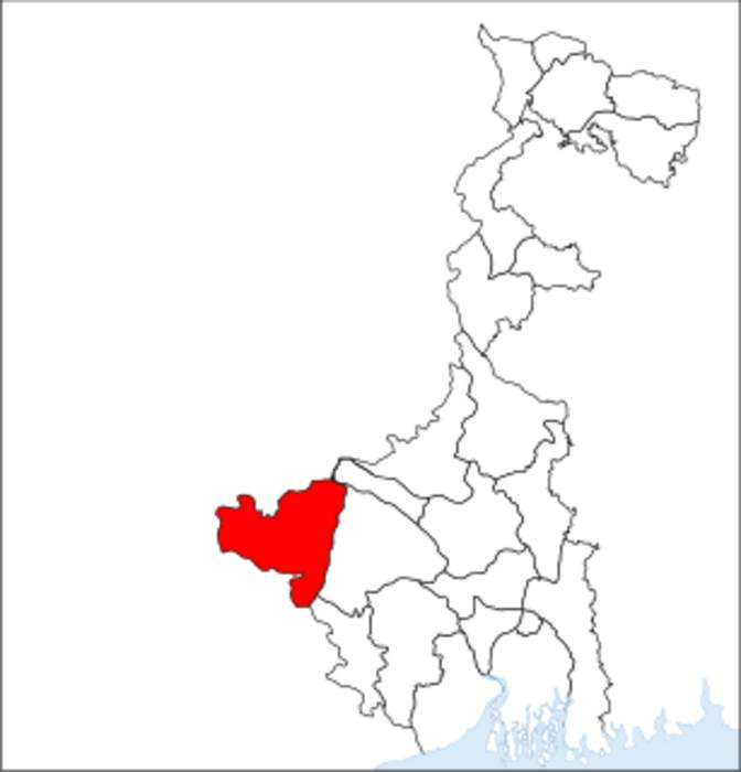 Purulia district: District of West Bengal in India