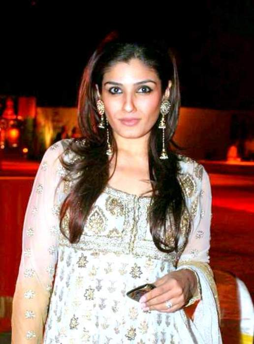 Raveena Tandon: Indian actress
