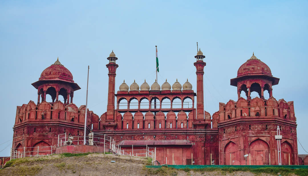 Red Fort: Historic fortress in Delhi, India