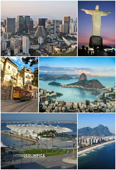 Rio de Janeiro: Megacity in Rio de Janeiro, Brazil