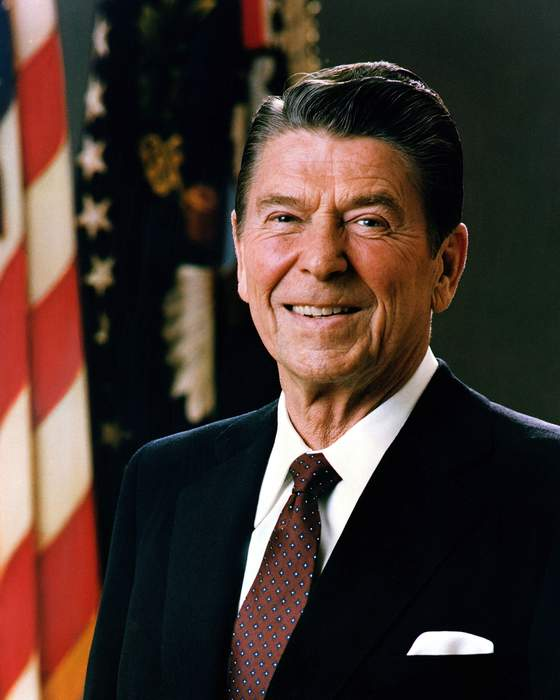 Ronald Reagan: 40th president of the United States (1981–89)