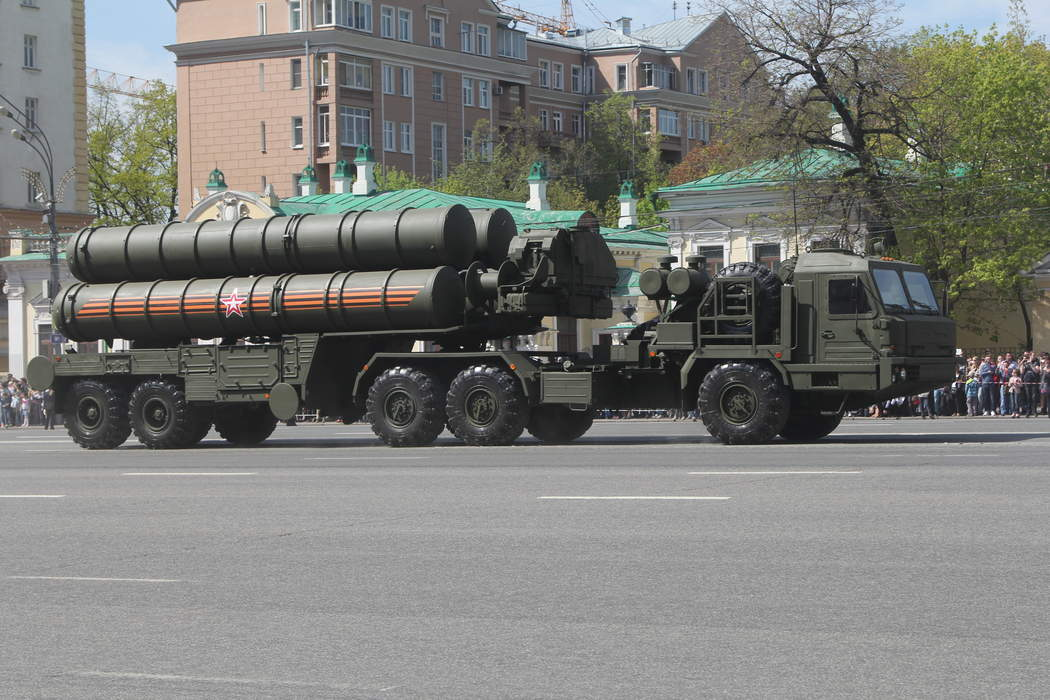 S-400 missile system: Type of Mobile surface-to-air missile/anti-ballistic missile system