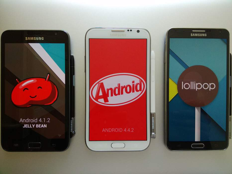 Samsung Galaxy Note series: Series of Android phablets in the Samsung Galaxy series