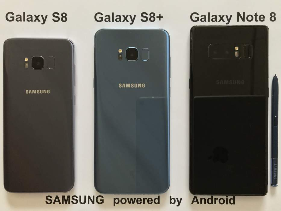 Samsung Galaxy: Series of Android smartphones, mobile computing device and android applications
