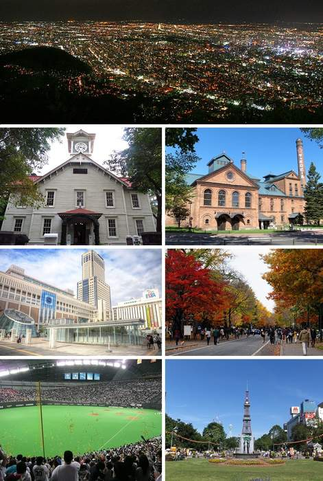 Sapporo: Designated city in Hokkaido, Japan