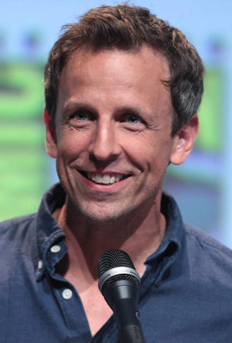 Seth Meyers: American comedian, actor, writer, and television host