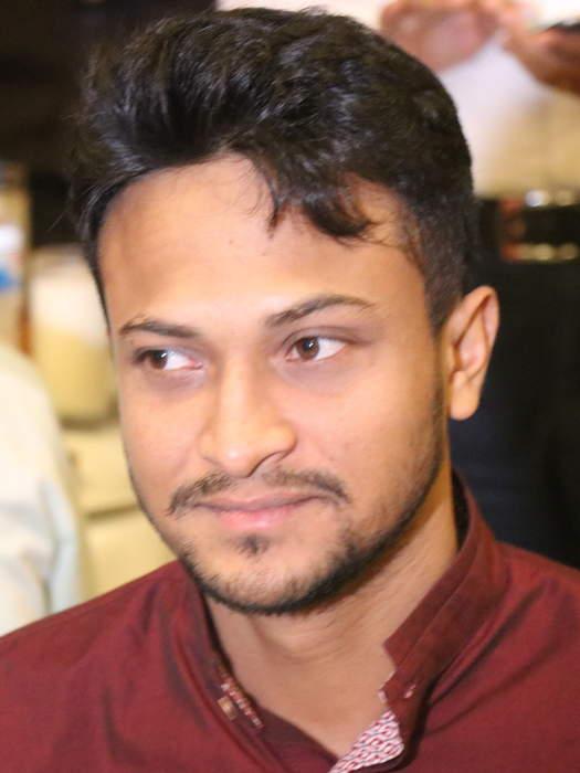 Shakib Al Hasan: Bangladeshi cricketer