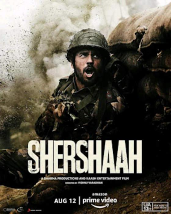 Shershaah: Indian biographic action film