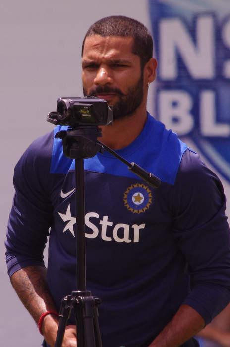 Shikhar Dhawan: Indian cricketer
