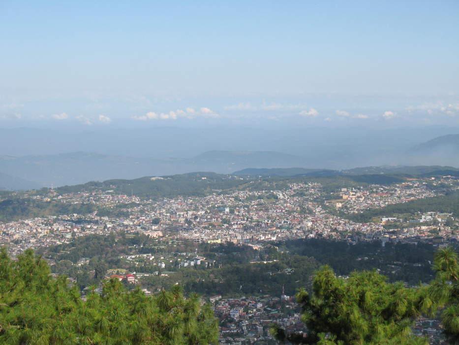 Shillong: City and state capital of Meghalaya, India