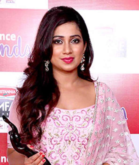 Shreya Ghoshal: Indian playback singer
