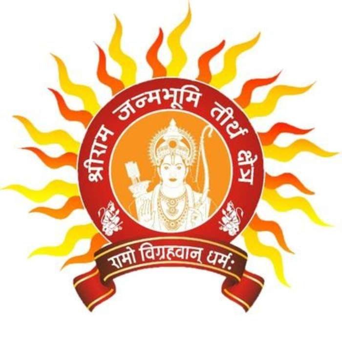 Shri Ram Janmabhoomi Teerth Kshetra: Hindu temple in Ayodhya. Believed to be the birthplace of Rama